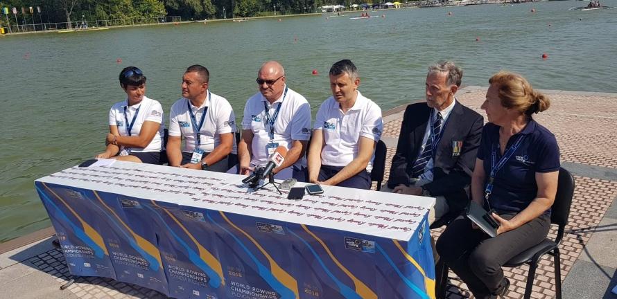 Три олимпийски шампионки пожелаха успех на световното по гребане в Пловдив