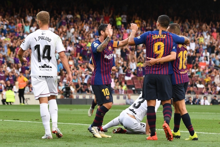Барселона - Уеска