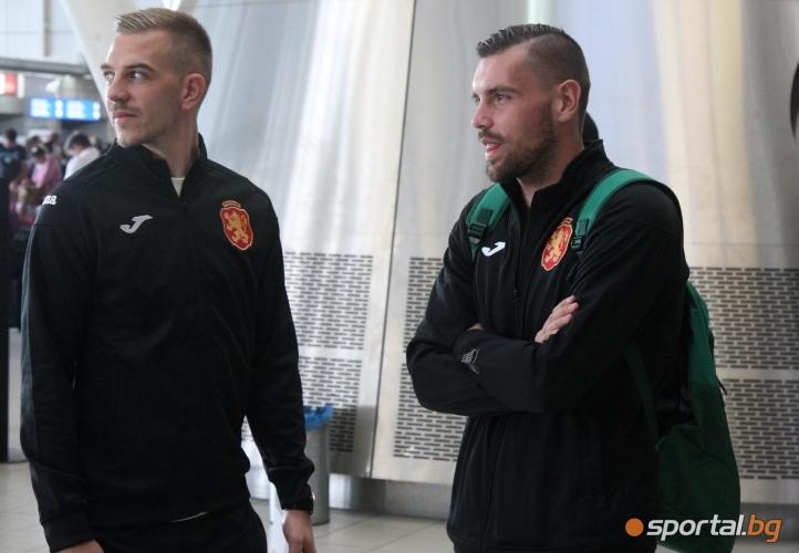 """Националите заминаха за мача със Словения от турнира """"Лига на нациите"""""""
