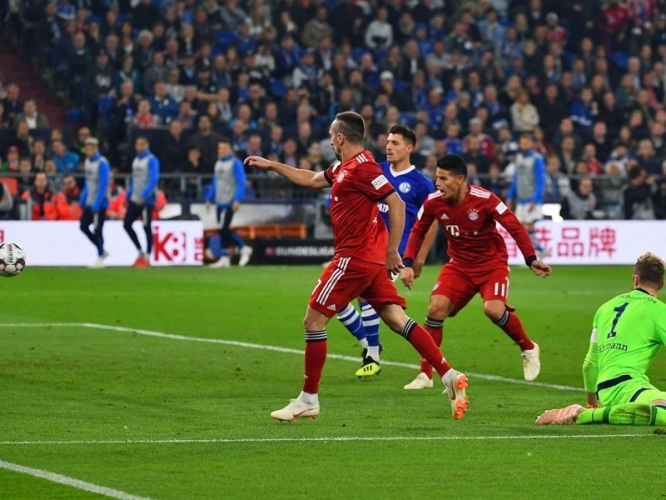 Шалке 04 - Байерн (Мюнхен) 0:2