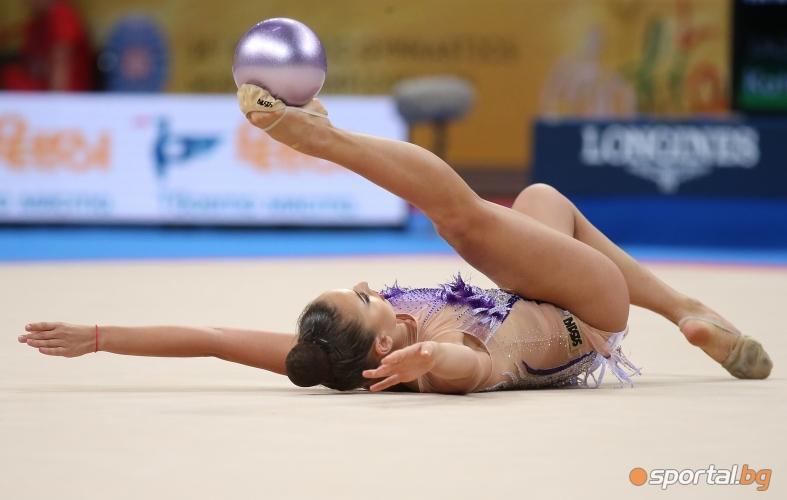 Финал на топка на СП по художествена гимнастика