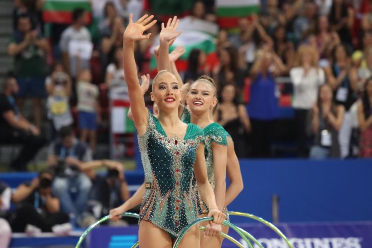 СП по художествена гимнастика - финал 5 обръча