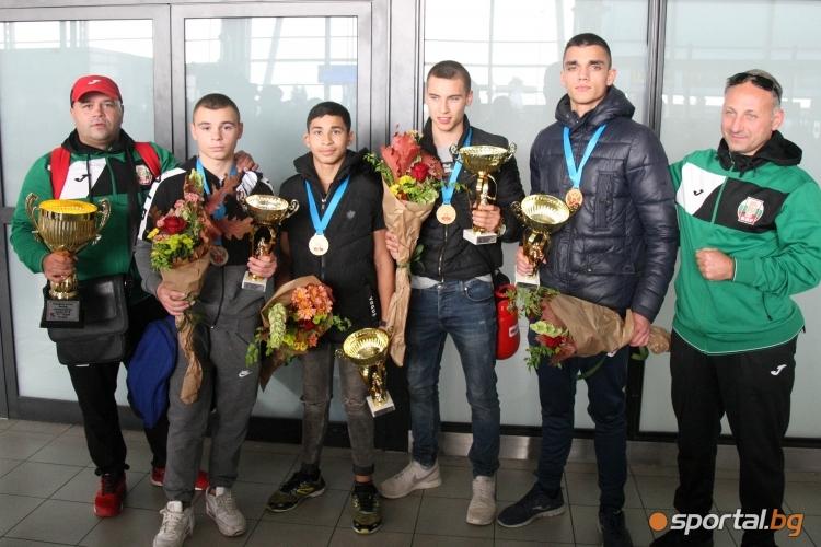 Боксьорите се завърнаха с 3 титли и 1 сребро от Европейското за юноши