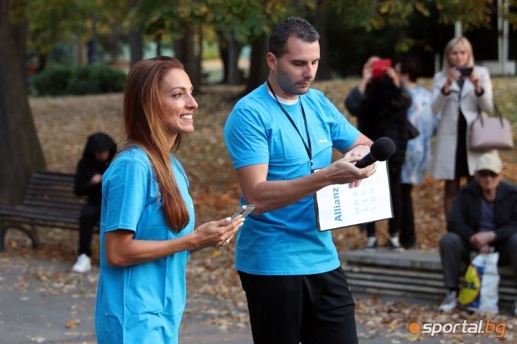 Ивет Лалова даде старт на благотворителен минимаратон