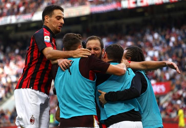 Милан удари Киево, Игуаин с два гола