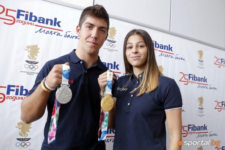 FiBank награди медалистите от младежката Олимпиада в Буенос Айрес