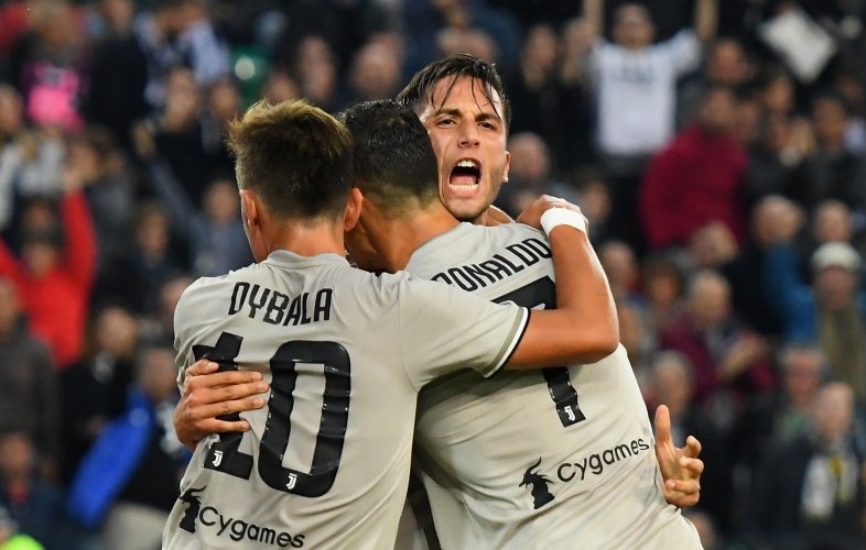 Ювентус мина и през Удинезе, Роналдо вкара нов гол