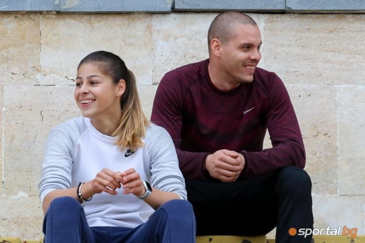 Тренировка на Александра Начева и Геогри Цонов