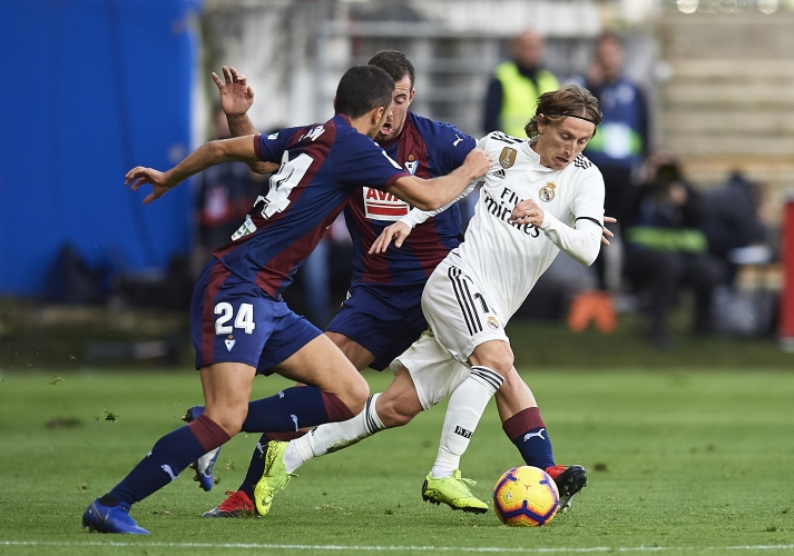 Ейбар - Реал Мадрид 3:0