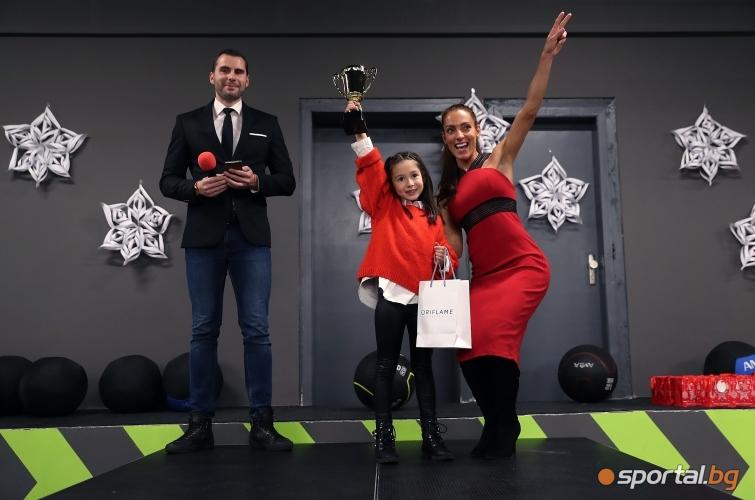 Ивет Лалова раздаде годишните награди на клуба си
