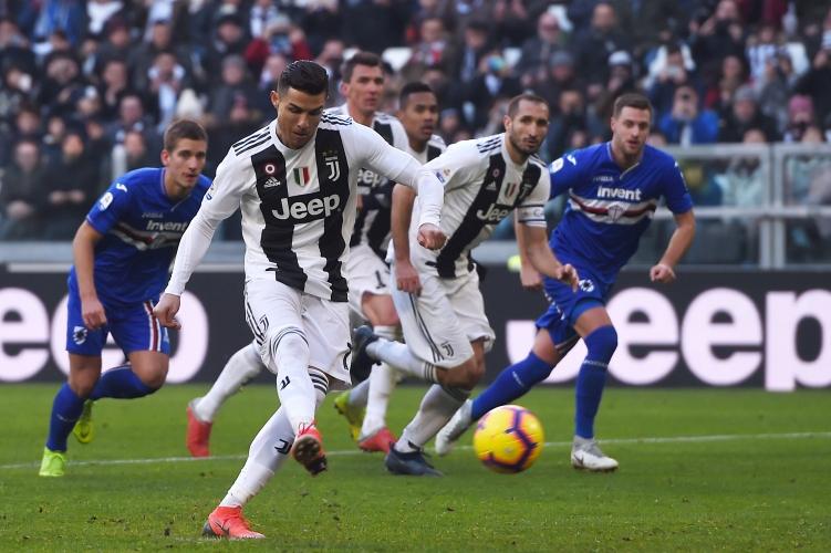 Ювентус - Сампдория, Роналдо с два гола