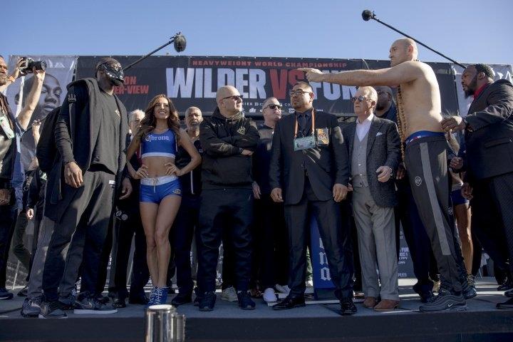 Тайсън Фюри се оказа по-тежък от Дионтей Уайлдър с 20 кг