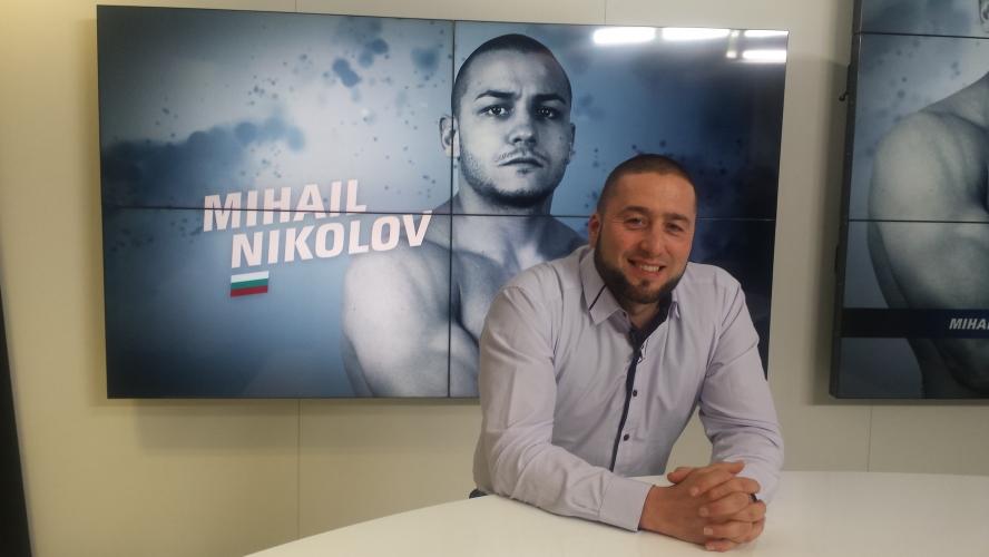 ММА боецът Михаил Николов преди SFC7 Avatars