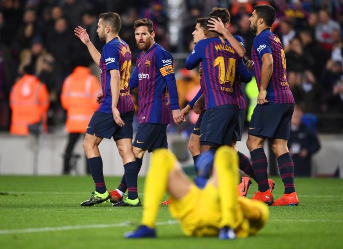 Барселона - Леганес 3:1
