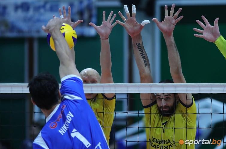 Полуфинал №2: Хебър - Левски