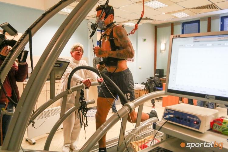 Играчите на Лудогорец минават медицински преглед