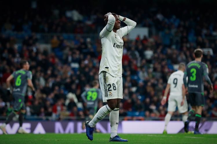 Реал Мадрид - Реал Сосиедад 0:2