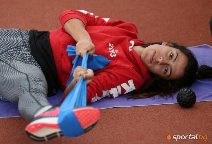 Тренировка на Виктория Георгиева