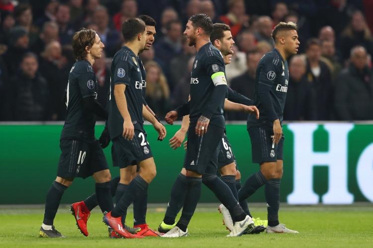 Аякс - Реал Мадрид