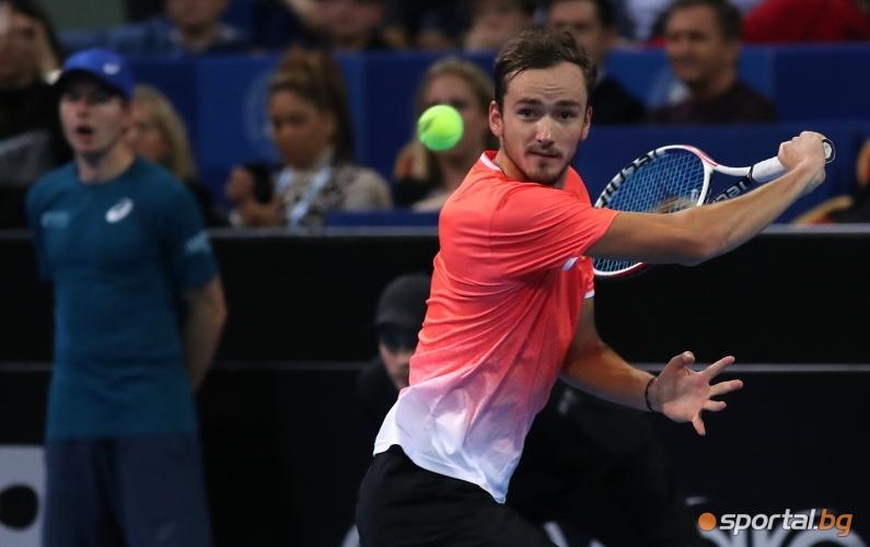 Данийл Медведев - Гаел Монфис - Sofia Open 2019