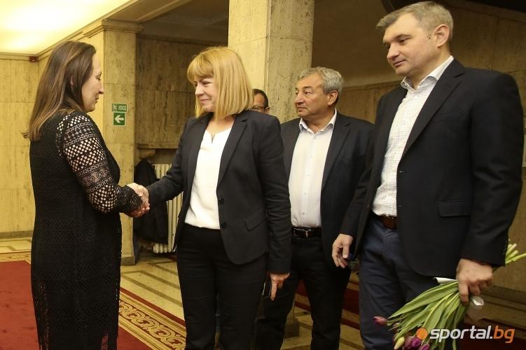 Йорданка Фандъкова , Евгения Раданова