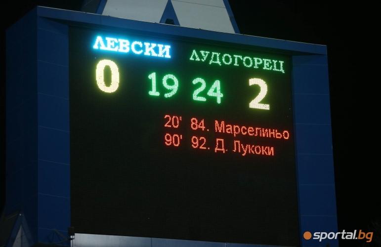 Левски - Лудогорец - част II
