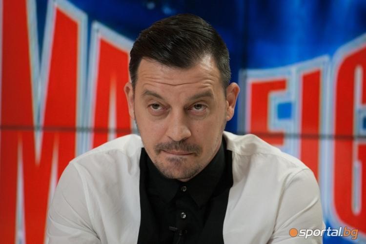 Детелин Далаклиев и Едуард Саруханян преди MAX FIGHT