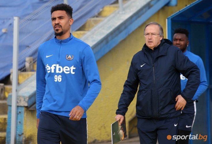 Левски се подготвя за дербито с Лудогорец