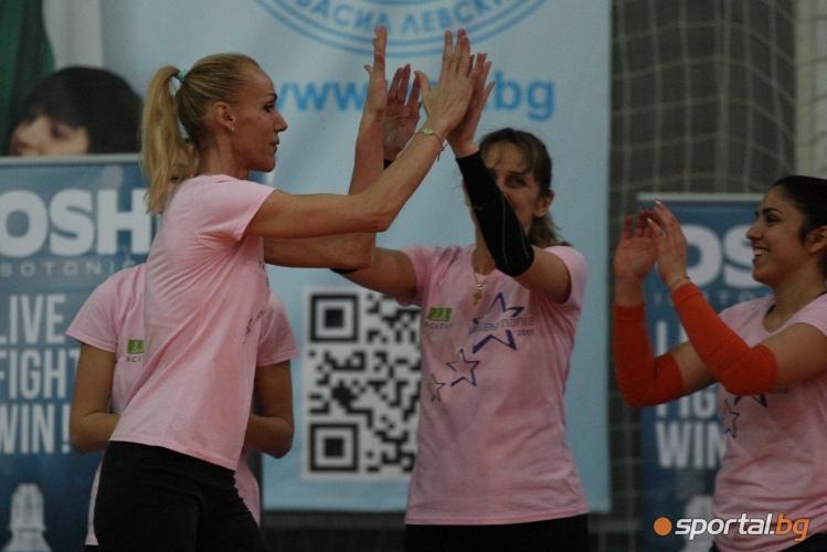 Мач на звездите на Аматьорска волейболна лига