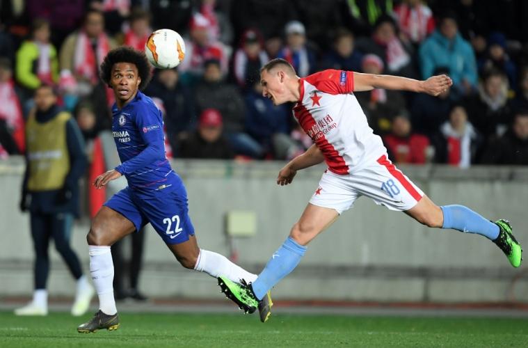 Славия (Прага) - Челси 0:1