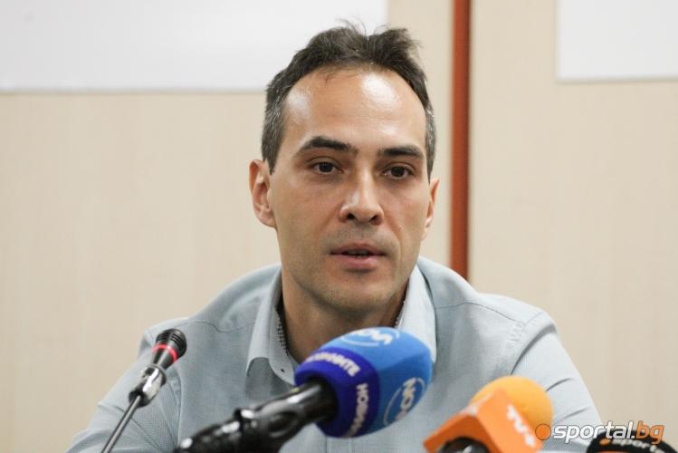 Пресконференция на селекционера на националният отбор по волейбол Силвано Пранди