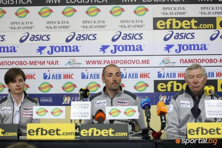 Владимир Илиев и Николай Захаров - спортист и треньор на месец Март