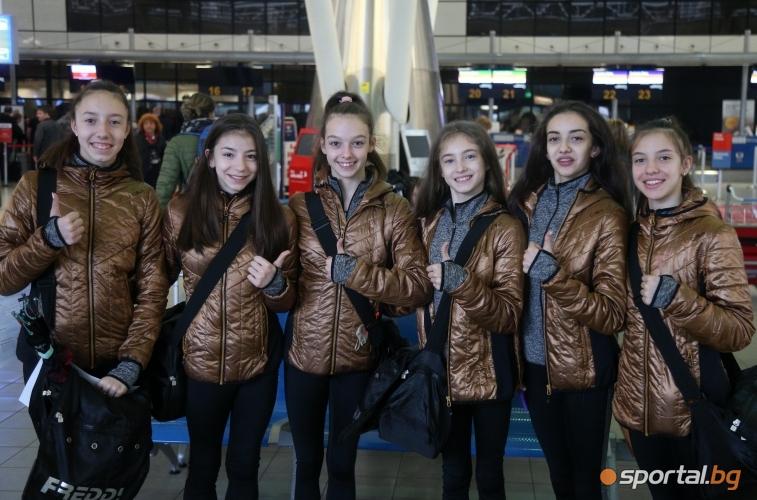 Гимнастичките заминаха за Европейското първенство в Баку