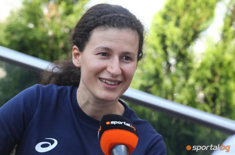 Тренировка и интервю с Линда Зечири