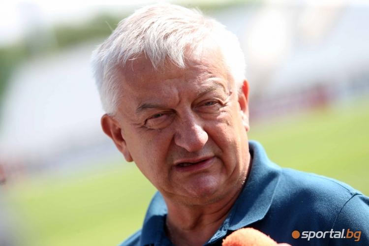 Първата тренировка в Локомотив (Пловдив) за новия сезон