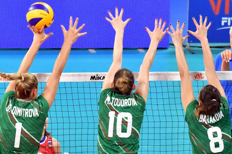 България с 11-а загуба в Лигата на нациите