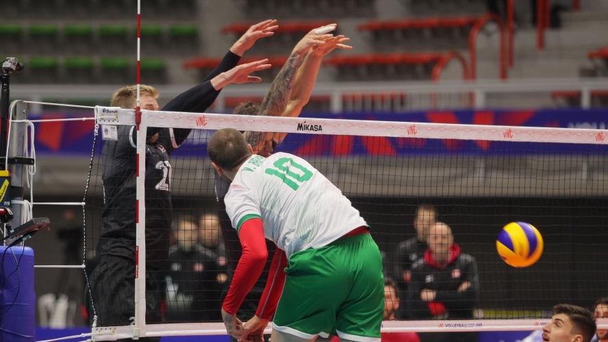 България победи Канада с 3:1 в повтория дебют на Силвано Пранди