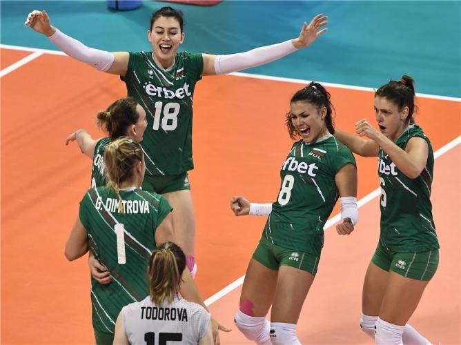 България - Китай 3:0