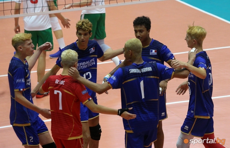 България - Франция U17