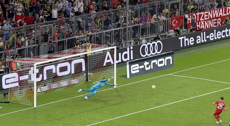 Audi Cup: Байерн - Фенербахче