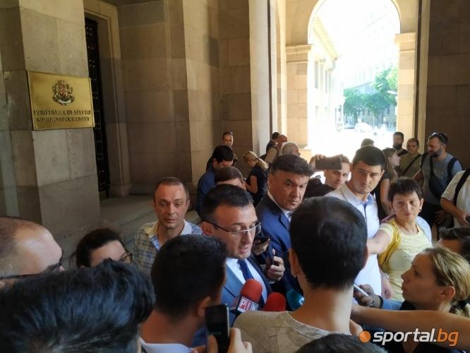 Срещата на Бойко Борисов с Боби Михайлов и футболните босове