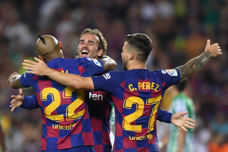 Барселона - Бетис