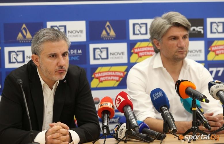 Павел Колев представя официално новия спортен директор на <a href=