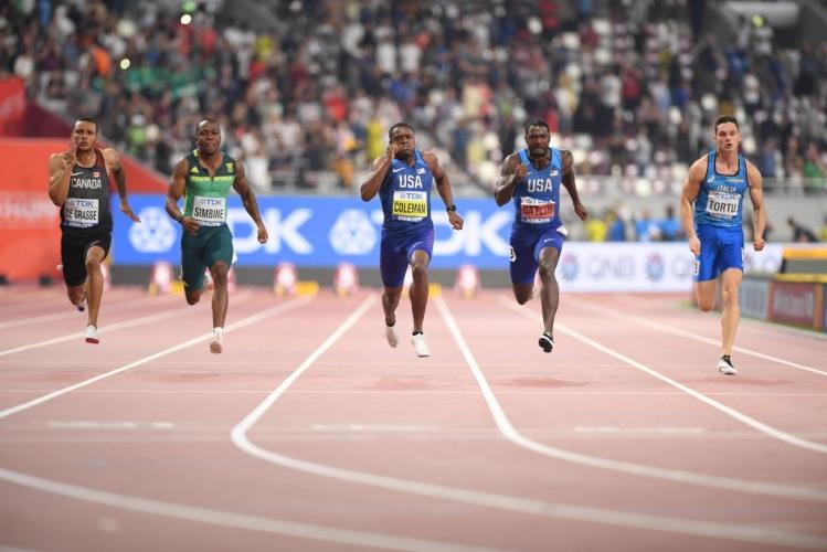 Крисчън Колман е новият крал на 100 метра, Гатлин със сребро на Световното