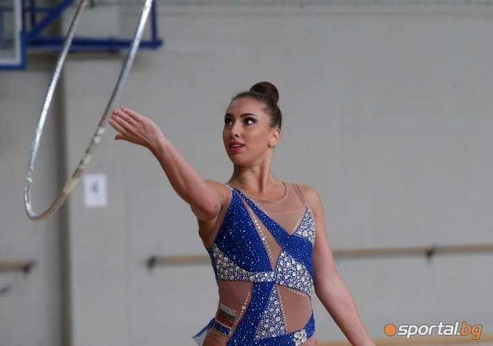 Контролно на националките по художествена гимнастика