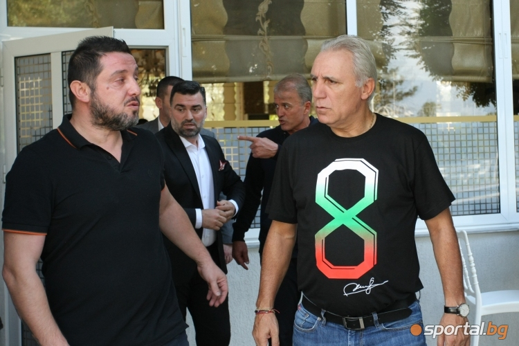 Стоичков и турски звезди говорят преди мача в Кърджали