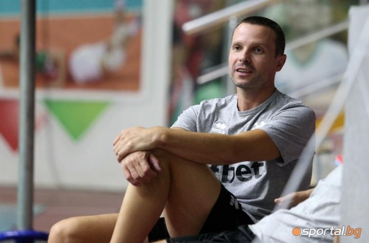 Интервюта и открита тренировка на волейнационалите