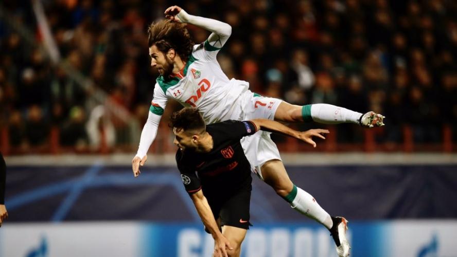 Локомотив Москва - Атлетико Мадрид