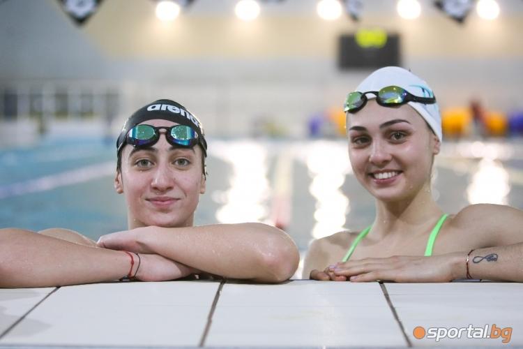 Тренировка на националите по плуване преди Европейското в Глазгоу