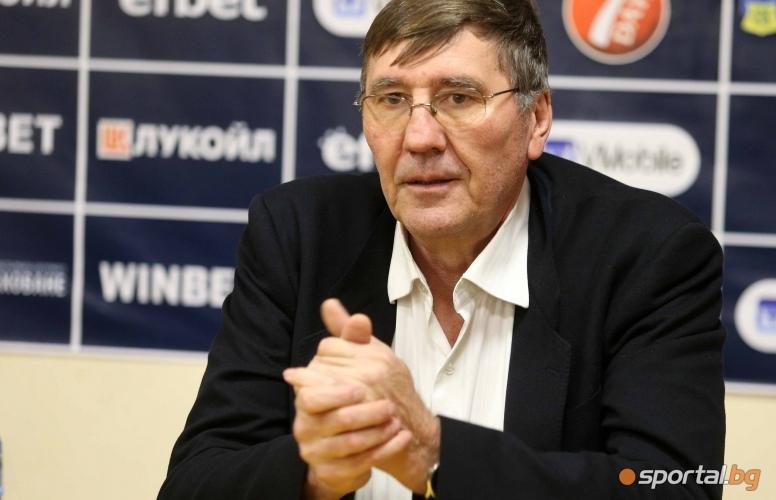 Пресконференция на Тодор Стойков и Георги Глушков за Купата на България
